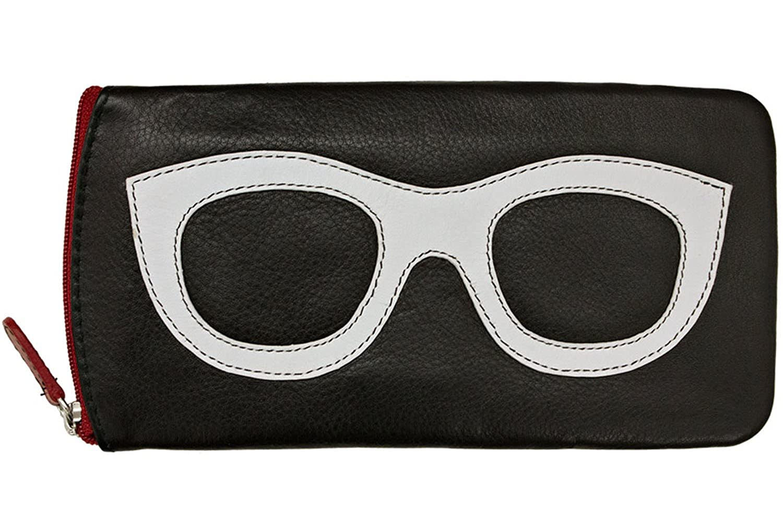 bb2452ad3115 Amazon.com  ili New York 6462 Leather Eyeglass Case (Amethyst Hot Pink)   Shoes