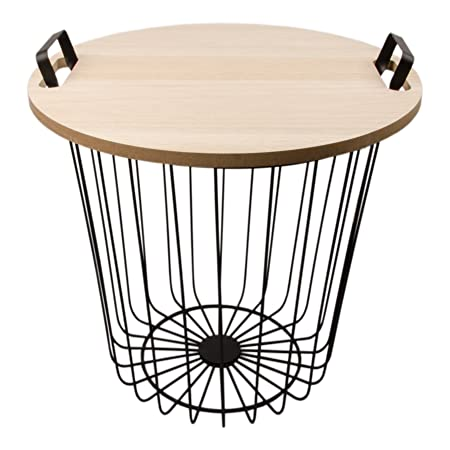 Wire basket side table uk wire center wire basket side table uk keyboard keysfo