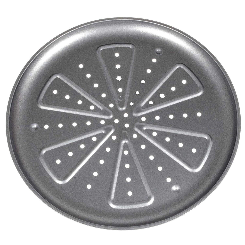 SIDCO Pizzablech Backblech Pizzabackblech Flammkuchen Kuchenblech rund 2 er Set