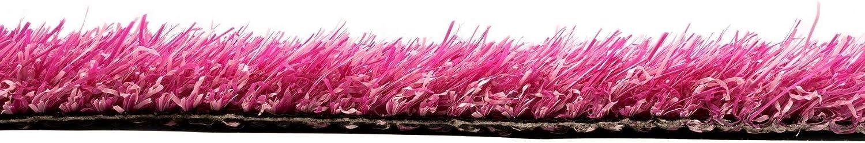 Messekunstrasen Kunstrasen Pink Rasenteppich KALEIDOSCOPE Messebodenbelag Messeteppich Musterst/ück Eventteppich Farbiger Indoor Kunstrasen Schwer Entflammbar