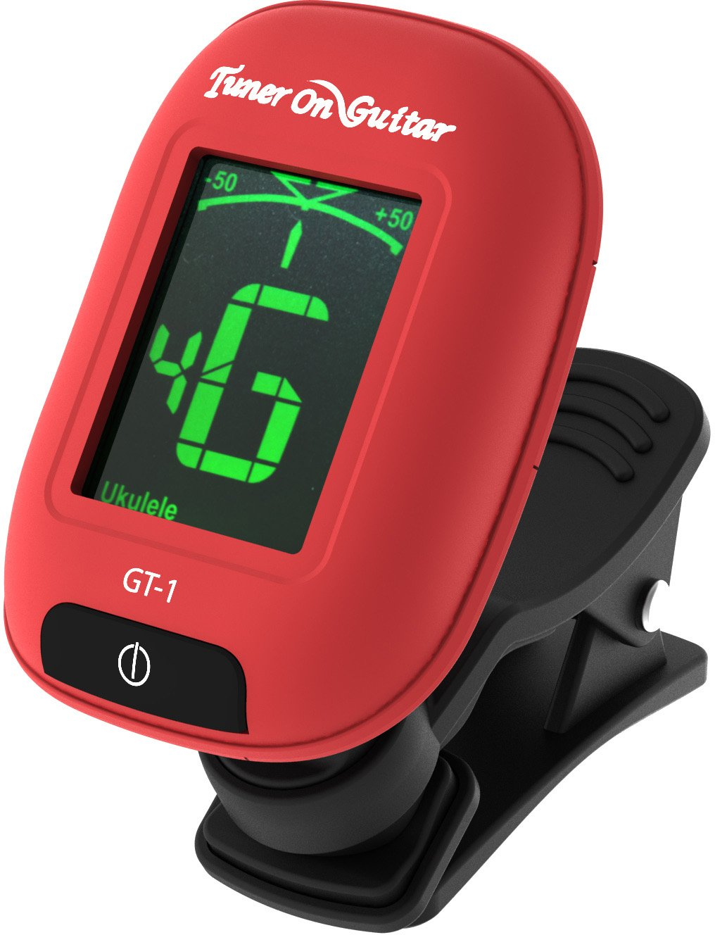 Guitar Tuner Clip On, Tune Acoustic & Electric Guitars, Bass, Ukulele and Violin, Easy to Use, Accurate, Fast, Turn 360 Degrees, Chromatic, Electronic, Enhance Your Tuning Experience Now! Tuner On Guitar GT-1