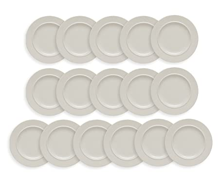 Alessi La Bella Tavola Set Of 16 Dessert Plates 21cm Amazon Co Uk