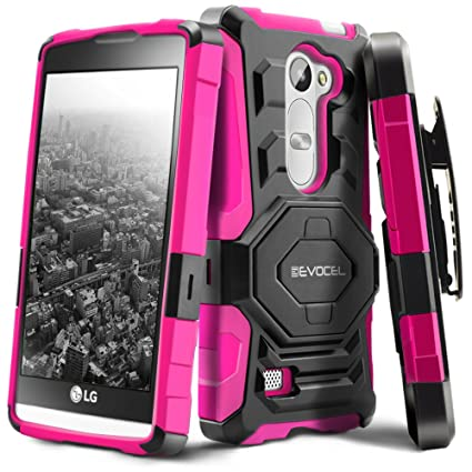 Amazon.com: evocel® LG Leon C40/LG Tribute 2 funda [Nueva ...