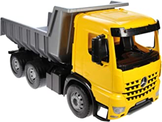 86aebd17310 Wader Quality Toys Lena Oversized 26 Inches Long Mercedes Dump Truck Indoor  Outdoor Vehicle (Made
