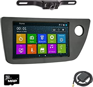DVD GPS Navigation Bluetooth Radio and Dash Kit for Acura RSX Type-S 2002-2006 with Back Up Camera