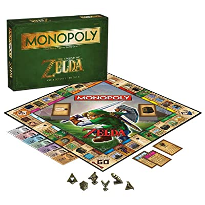 MONOPOLY: The Legend of Zelda Collector's Edition: Game: Toys & Games