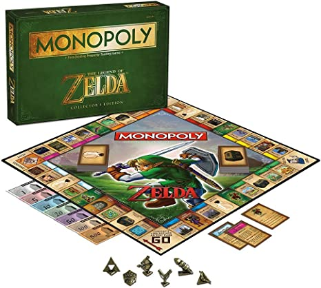 Amazon.com: Monopoly: The legend of Zelda, edición ...