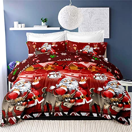 New Digital Print Duvet Cover Set Colorful Bedding Quilt Pillowcases All Sizes