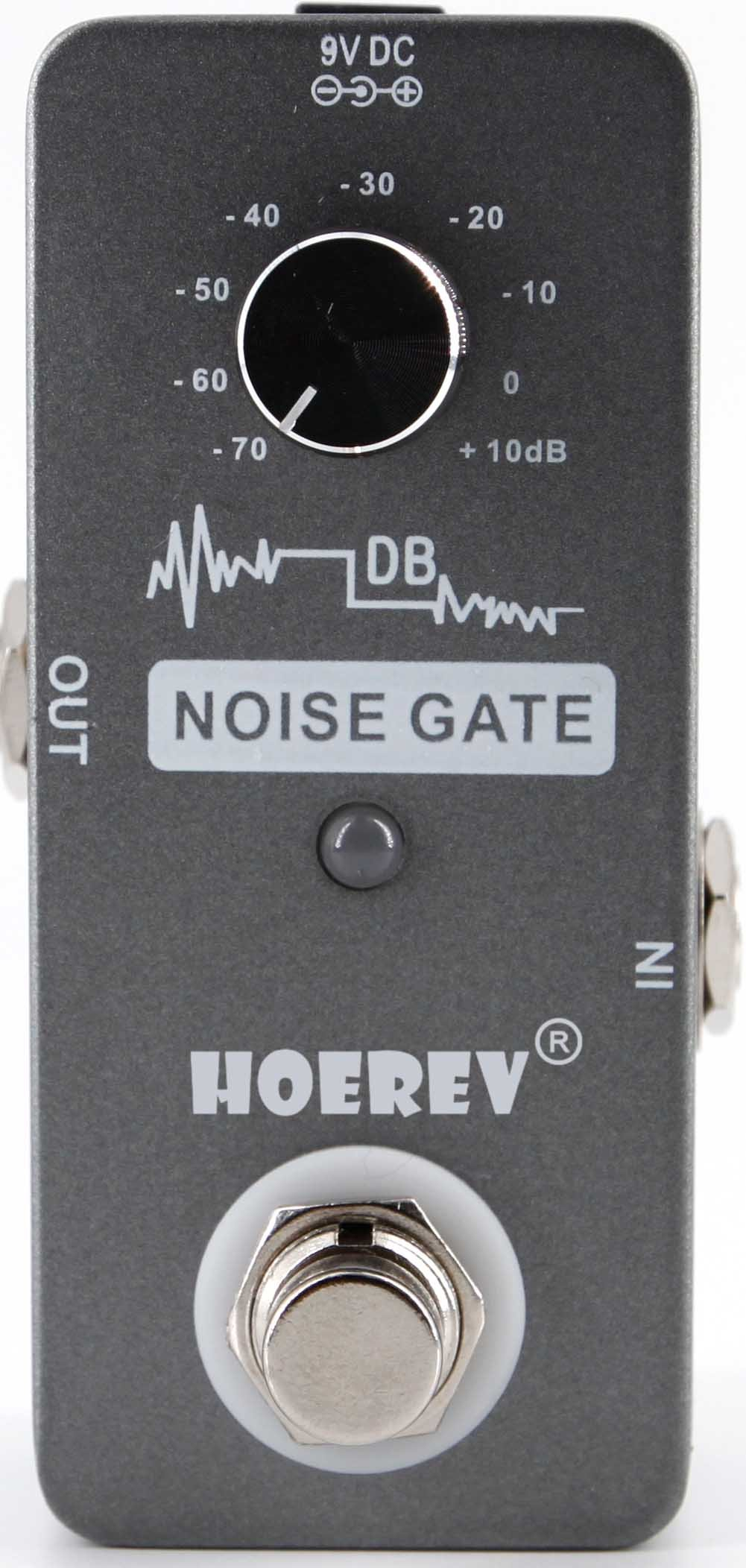 Noise Gate For Guitar And Bass Noise Reduction,With High Sensitivity Noise Gate Controller