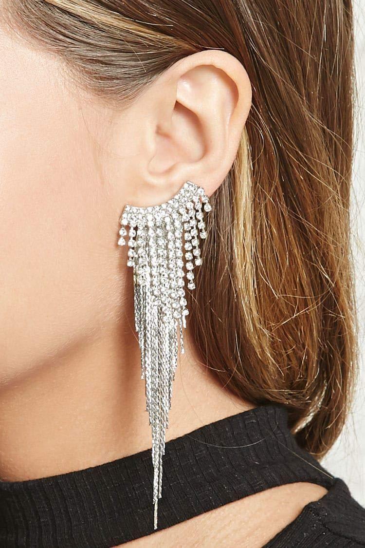 Super Sparkling 3MM 10Yard Silver Clear Glass Crystal Rhinestone Chain Close Trim Cup Chain Bulk for Craft Body Jewelry Making