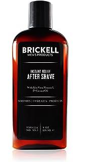 Brickell Mens Products – Loción para Después de Afeitar Alivio Instantáneo para Hombres - Natural y