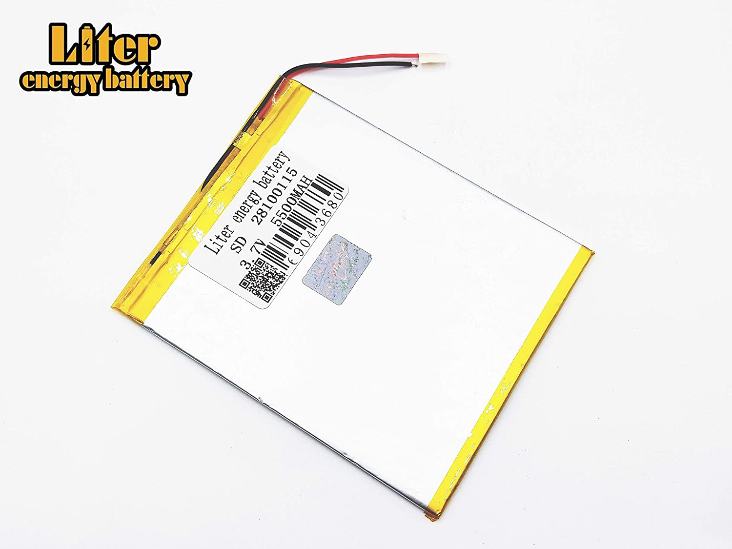3.7V 3000mAh 2970115 Lithium Polymer Ion Rechargeable Battery Lithium Polymer Li-Po Battery for MP4 GPS MP3 Bluetooth Stereo DIY Gift
