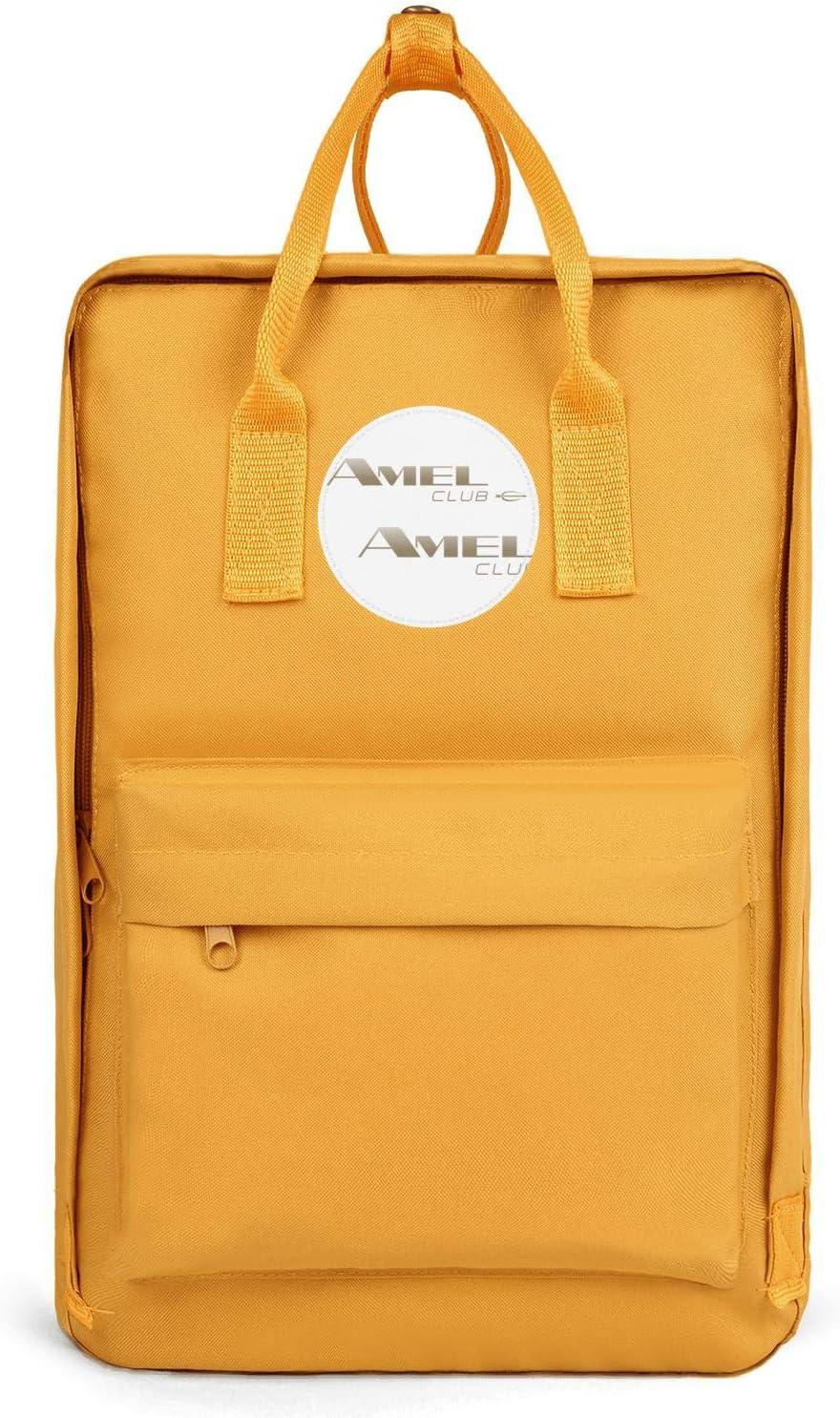 Best Mens Waterproof Backpacks Amel-Yachts-logos Bookbags Womens Oxford School Bag