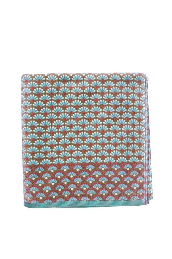 Pip Studio 260338202004 Blooming Tails-Toalla algodón, 70 x 140 cm, color azul: Amazon.es: Hogar