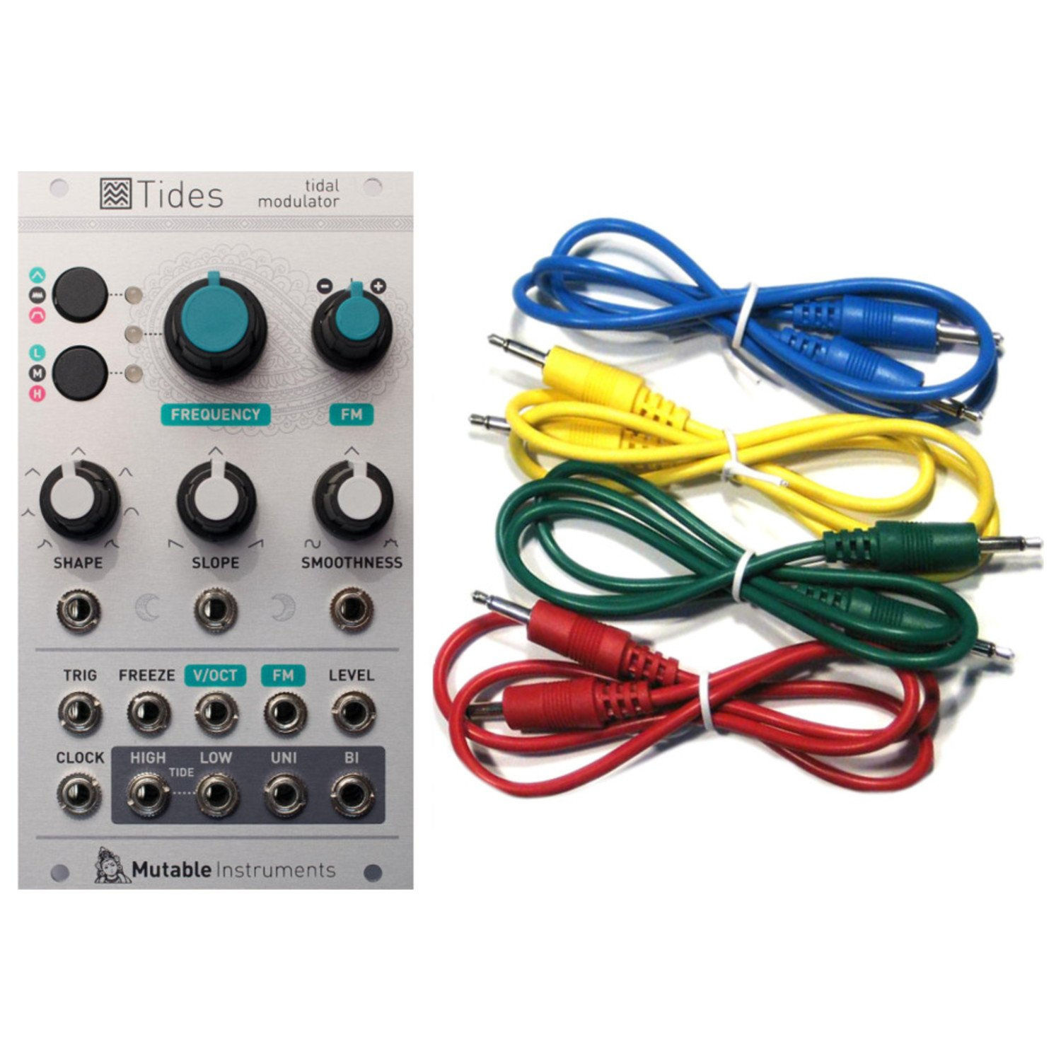 Mutable Instruments Tides Tidal Modulator Envelope Generator Eurorack Module w/ 4 Cables by Mutable Instruments (Image #3)