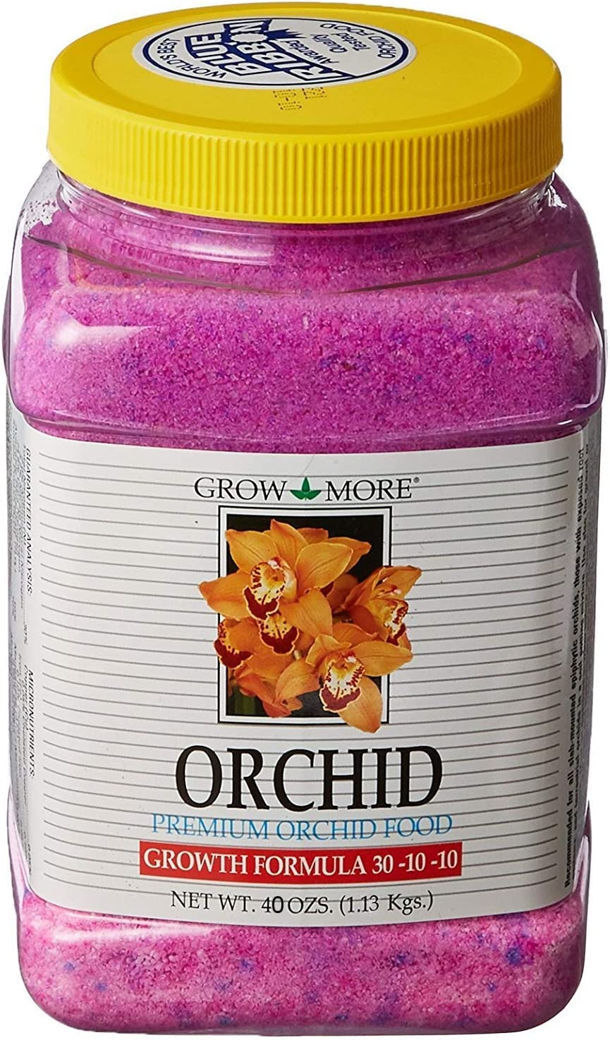 Grow More 7515 Orchid Growth 30-10-10, 40 Ounces, 40 oz, Brown/A