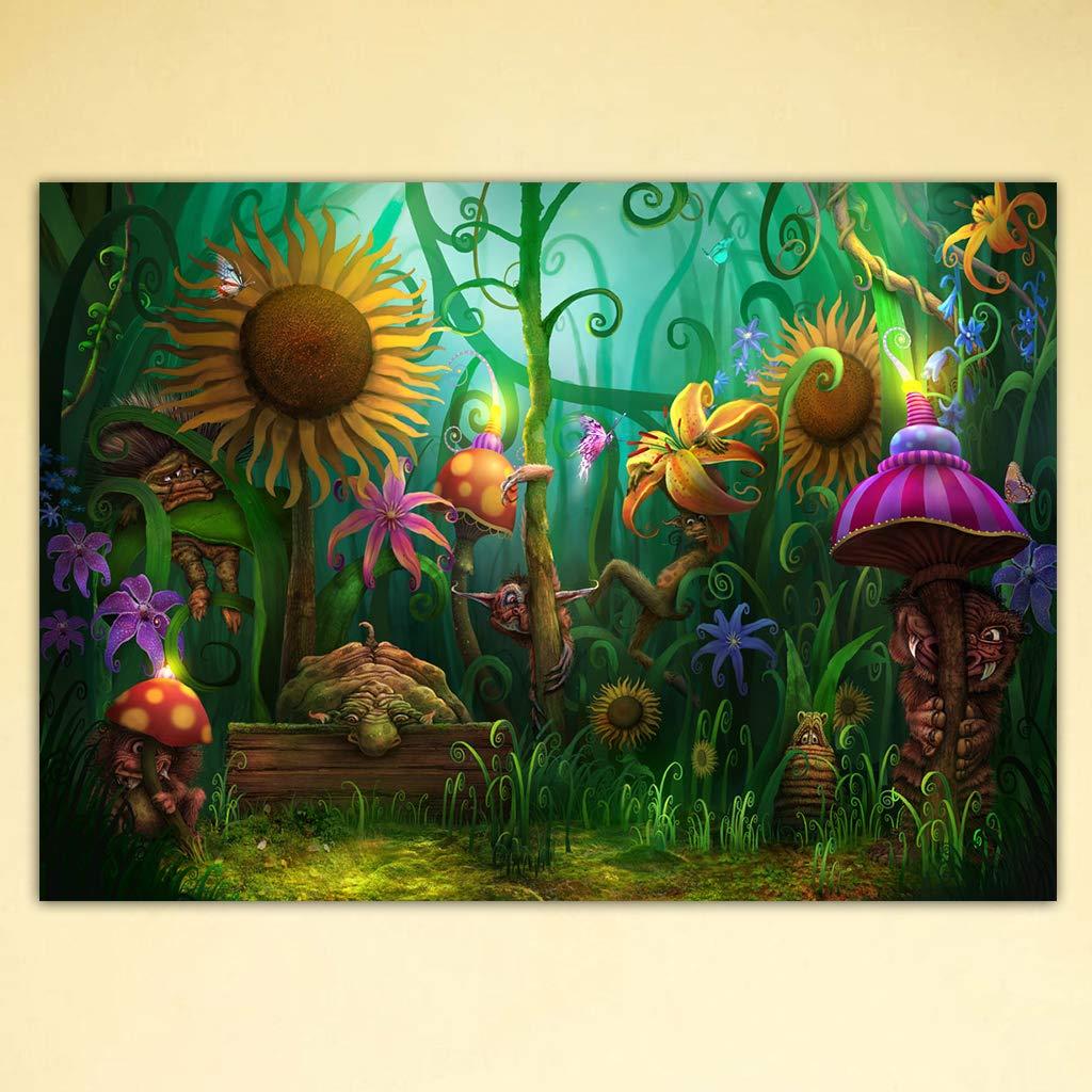 JAGETRADE Sunflower DIY 5D Full Drill Diamond Painting Embroidery Cross Stitch Kit Rhinestone Mosaic Home Decor Craft