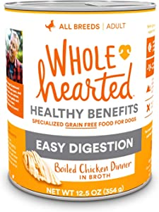 WholeHearted Grain-Free Adult Boiled Chicken Dinner Wet Dog Food