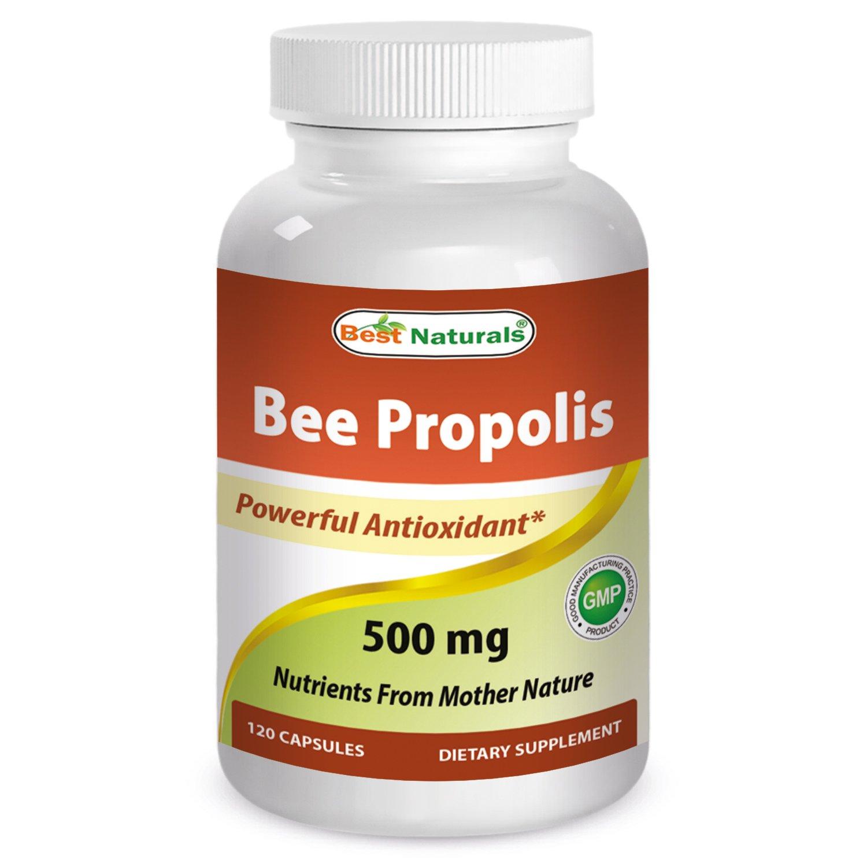 Best Naturals Bee Propolis 500 mg 120 Capsules