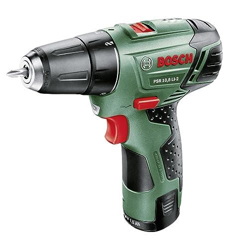 Bosch Home and Garden 0.603.972.90A Atornillador, 10.8 W, 10.8 V, Negro, Verde, Rojo