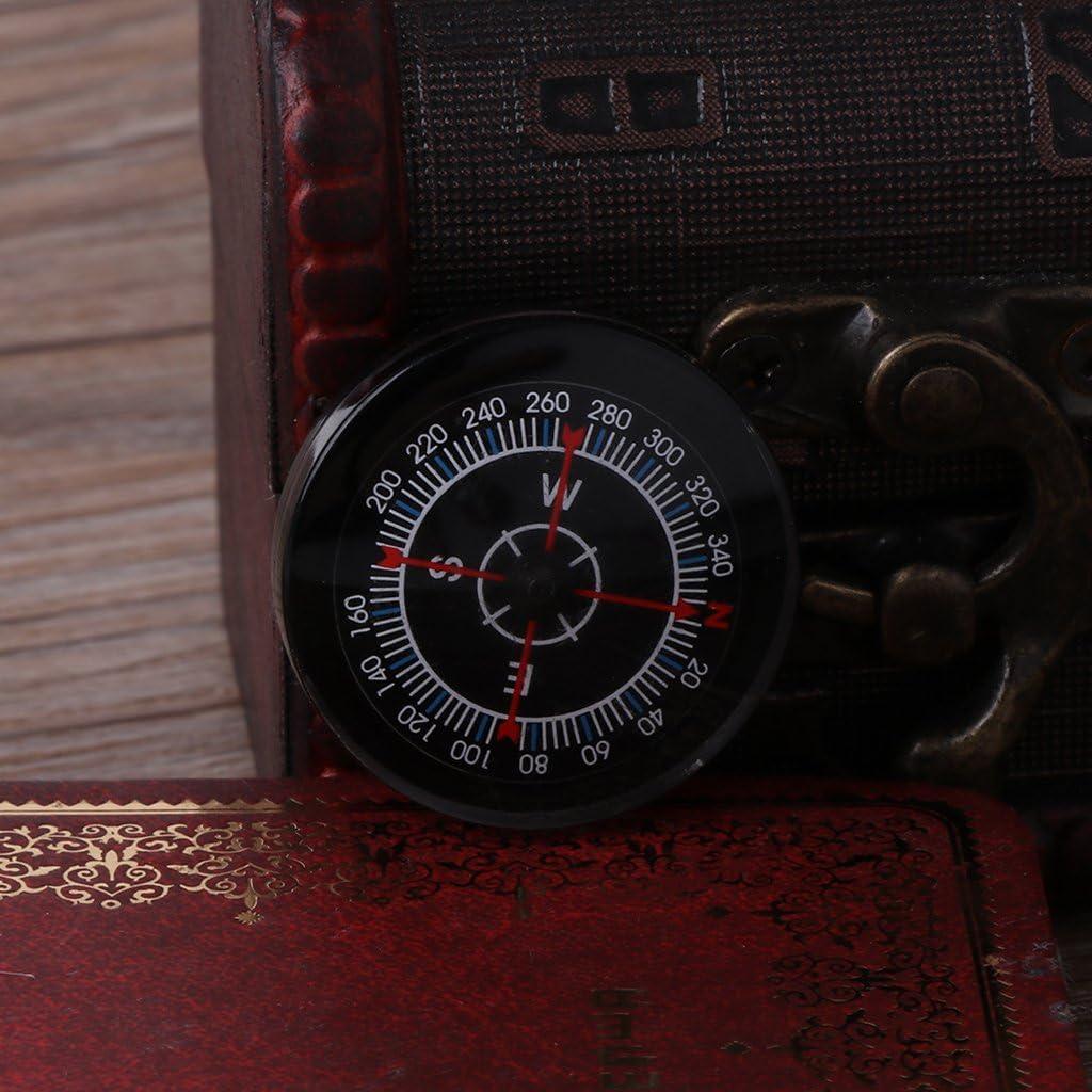 Lailongp Compas /à Huile Portable de Survie avec Boussole /étanche pour la randonn/ée