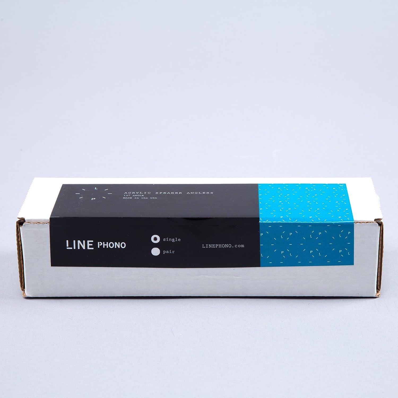 Single for 1 Speaker Line Phono: Acrylic Speaker Angler Stands