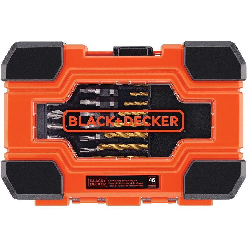 BLACK+DECKER 71-966 Drilling and Screwdriving Set 66-Piece Bit Set