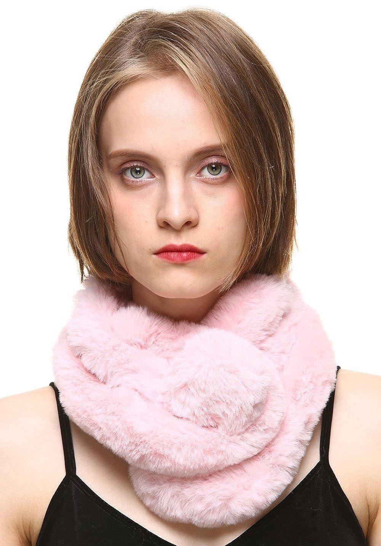 vogueearth Pelo Sintético Pelaje Artificial Piel Sintética Mujer Invierno Más Cálido Wraps Bufanda Fular Envolver Mantón Estolas Capes