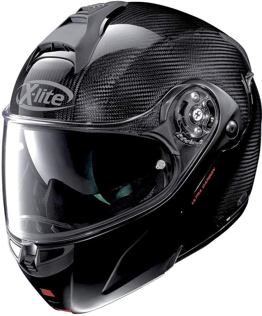 Amazon.es: Casco Helmet Modular x-1004 N-Com Ultra Carbon ...