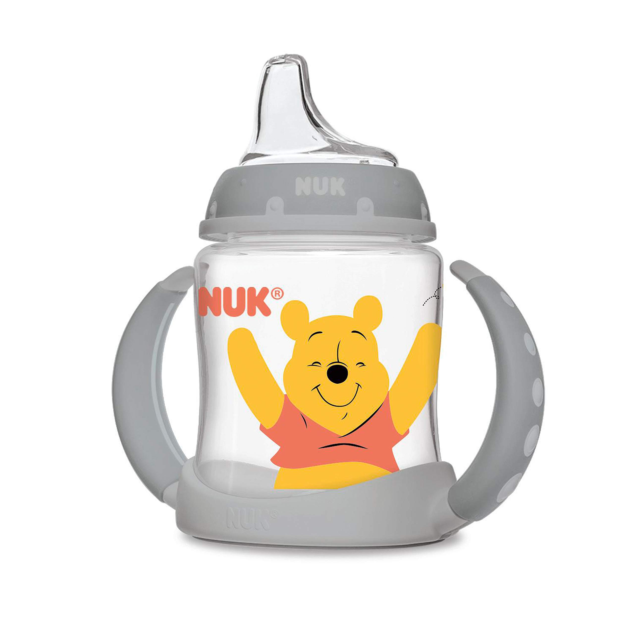 NUK Disney Learner Sippy Cup, Winnie The Pooh, 5oz 1pk (Colors may vary) by NUK