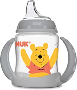 NUK Disney Winnie The Pooh Learner Cup with Silicone Spout, 5oz