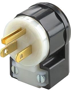 leviton 5266 c 15 amp 125 volt industrial grade plug straight