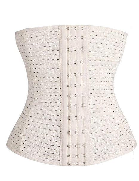 Tomasa Mujeres Faja Reductora de Cintura Shapewear del Cuerpo Corsé de la Cintura