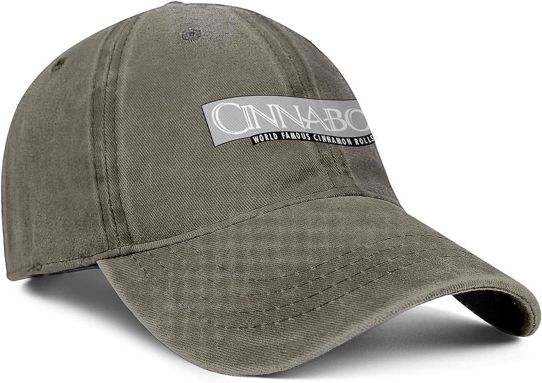 WintyHC Cinnabon Gray Cowboy Hat Trucker Hat Adjustable Fits Gas Cap