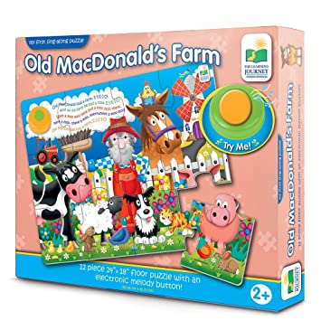 The Learning Journey My First Sing Along Puzzle, Old MacDonalds Farm