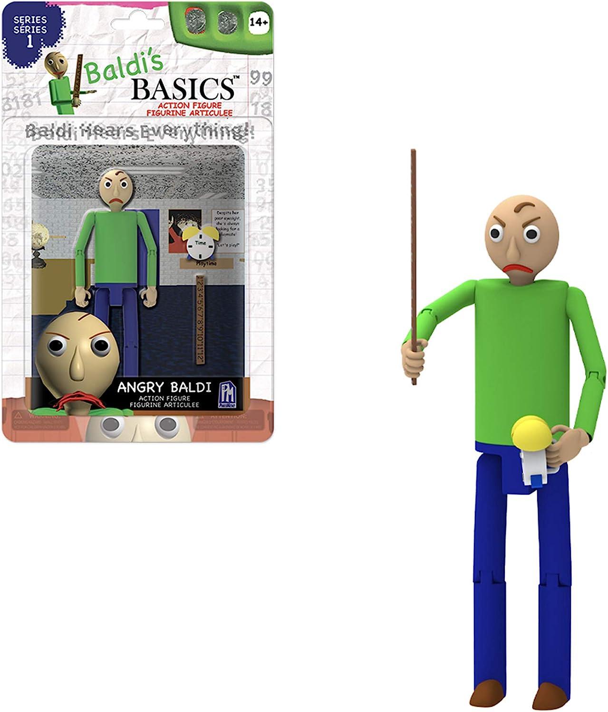 "PhatMojo Baldi/'s Basics 5/"" Action Figure Bully"