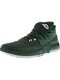 the best attitude 7e672 24b8c adidas Dame 3 Shoe Mens Basketball Green