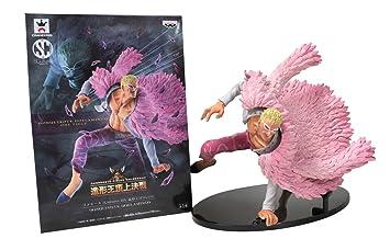 One Piece Donquixote Doflamingo Banpresto Action Figure Collectible Toy