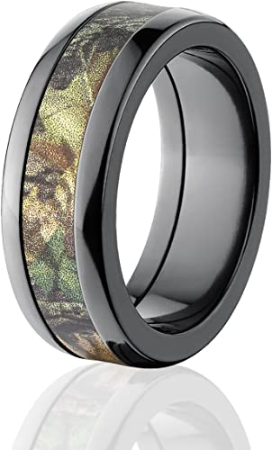 Amazon Com Mossy Oak Rings Camouflage Wedding Bands New Breakup Camo Ring The Jewelry Source Jewelry