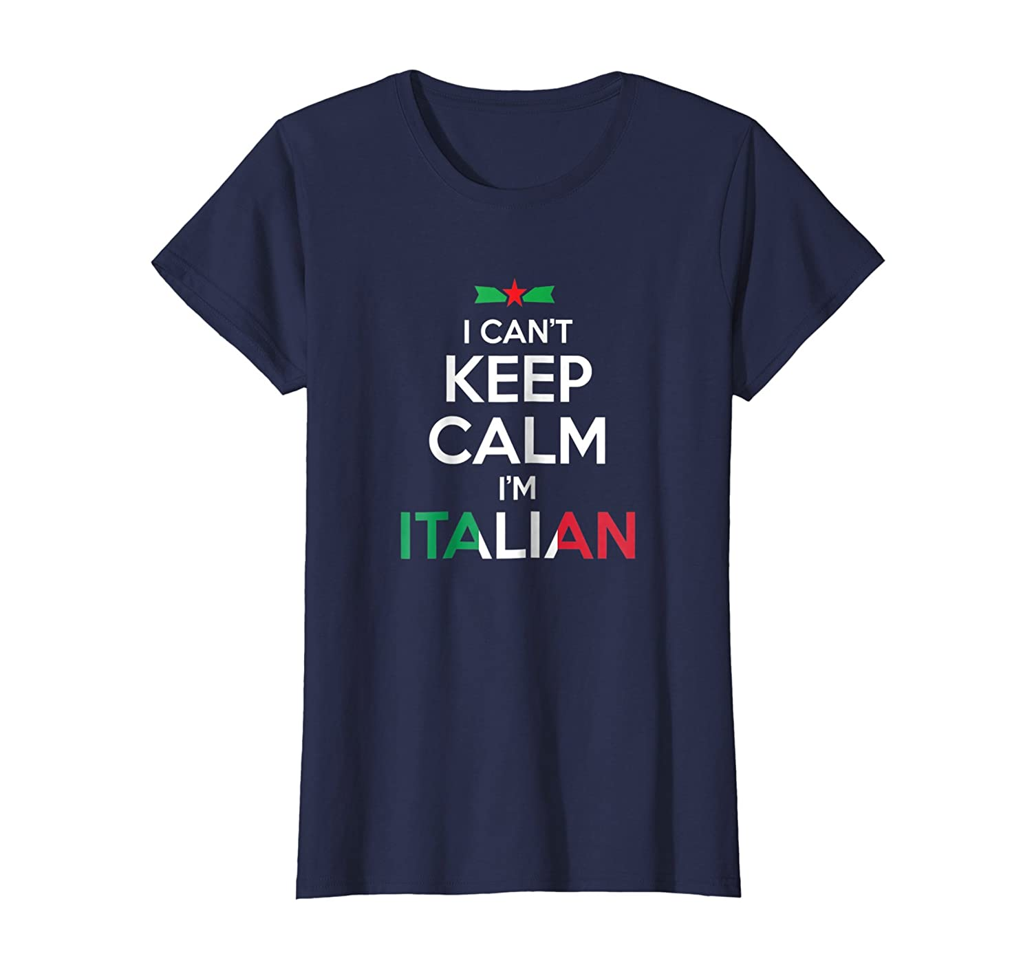 I Can't Keep Calm I'm Italian – Unisex T-shirt-Awarplus