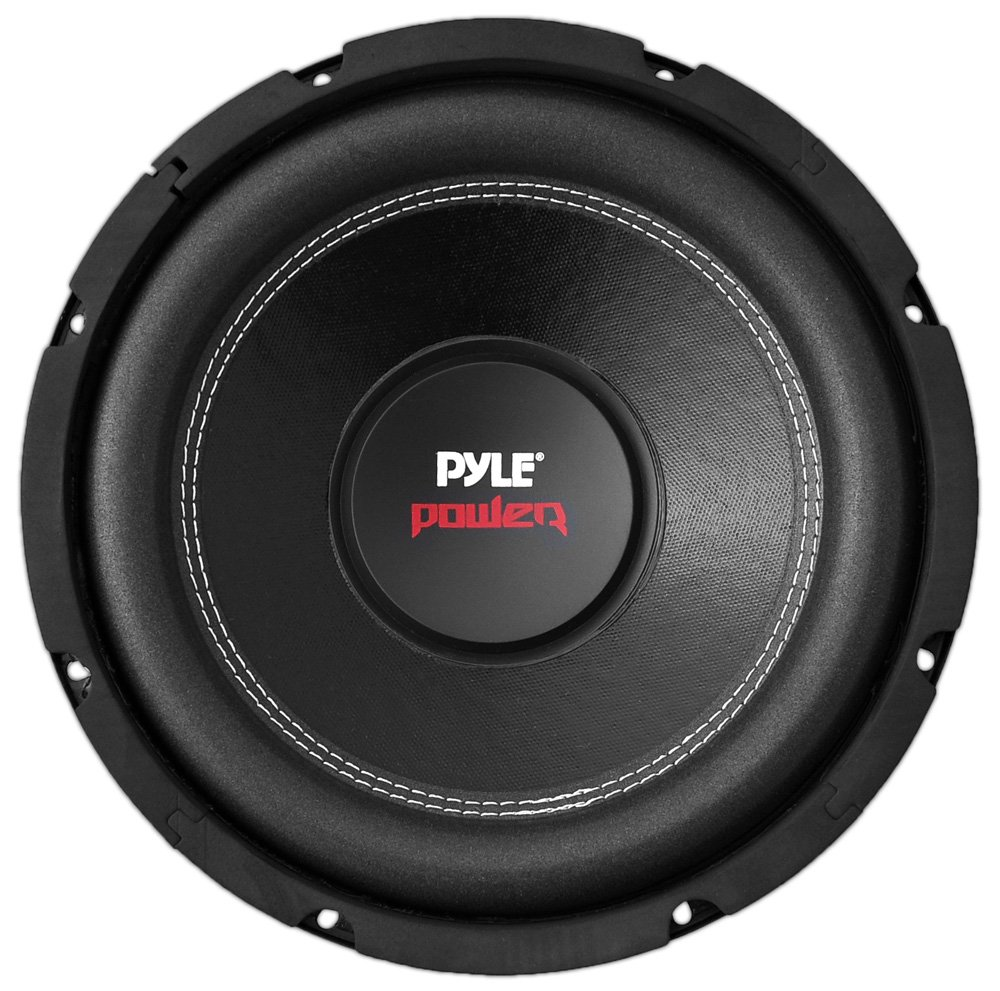 Pyle Car Subwoofer Audio Speaker - 8in Non-Pressed Paper Cone, Black Steel Basket, Dual Voice Coil 4 Ohm Impedance, 800 Watt Power and Foam Surround for Vehicle Stereo Sound System - PLPW8D by Pyle