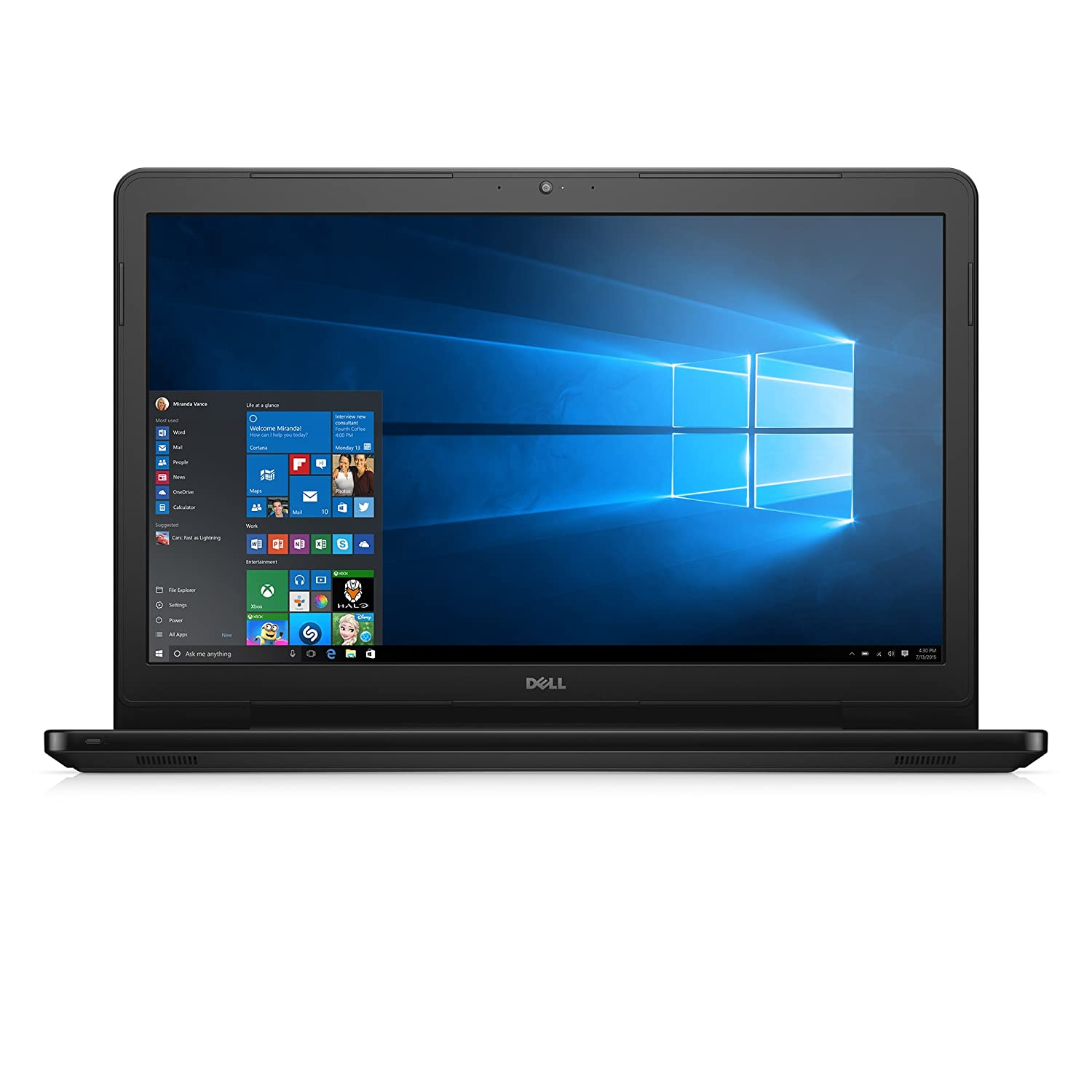Amazon Dell Inspiron i5755 2858BLK 17 3 Inch Laptop AMD A8 8 GB RAM 1 TB HDD Black puters & Accessories