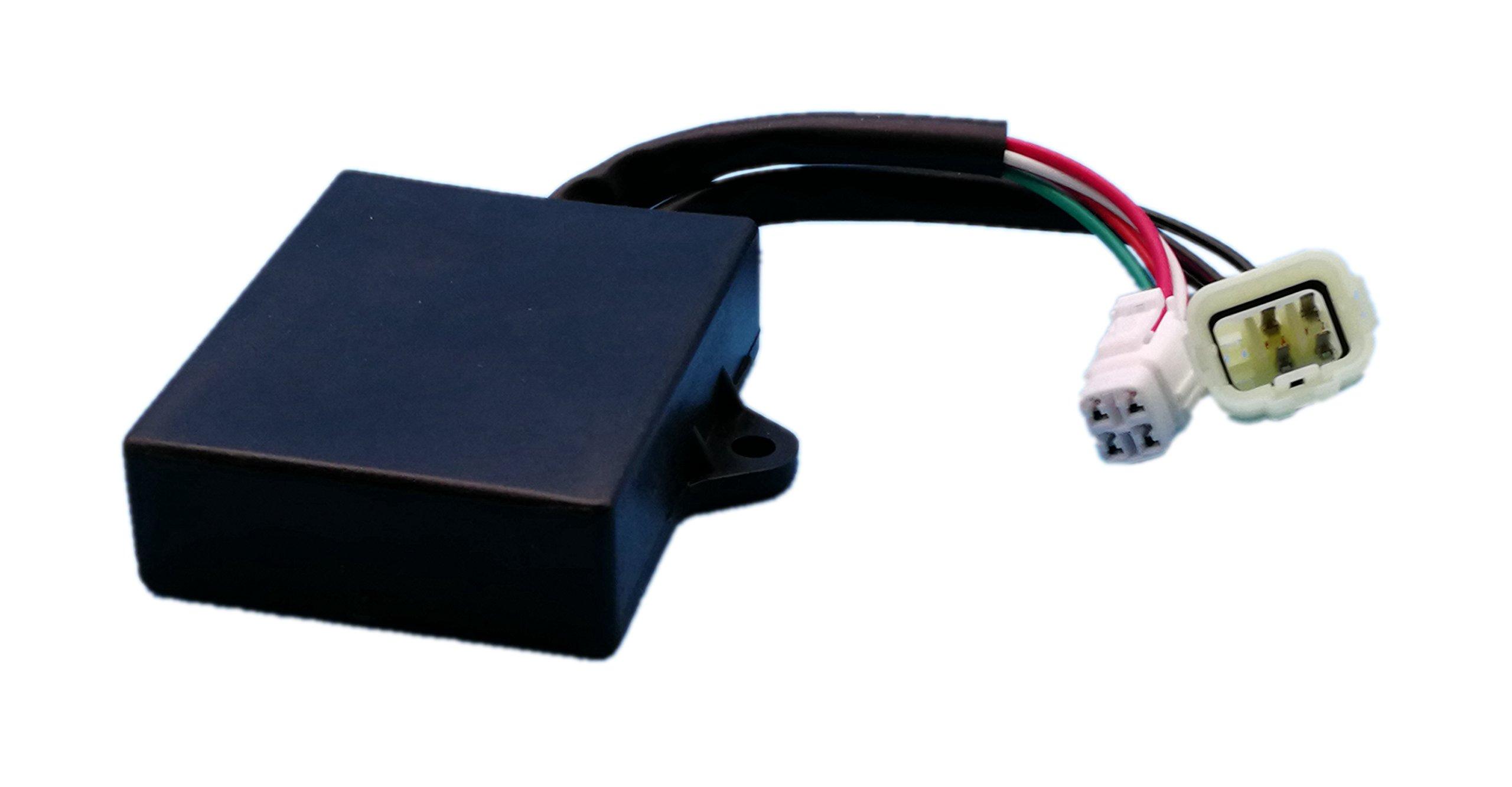 Tuzliufi CDI Box Module Replace Yamaha Banshee 350 Yfz350 1997 1998 1999 2000 2001 2002 2003 2004 2005 2006 ATV Replace 3GG-85540-10-00 3GG855401000 New Z10