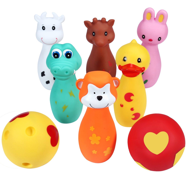 Amazon Svance Bowling Toy Set Cute Animal Friends Bowling