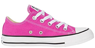 9c7f2a142a64 Image Unavailable. Image not available for. Color  Converse Unisex Chuck  Taylor All Star Ox Plastic Pink ...