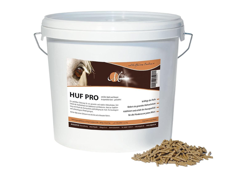 M-Premium Pferd Huf Pro – Ergänzungsfuttermittel für Pferde für gesundes Hufwachstum, Hufstabilität und Erhalt guter Hornqualität, mit Zink und Kieselgur ohne Biotin – 3,5 kg Eimer in Pelletform