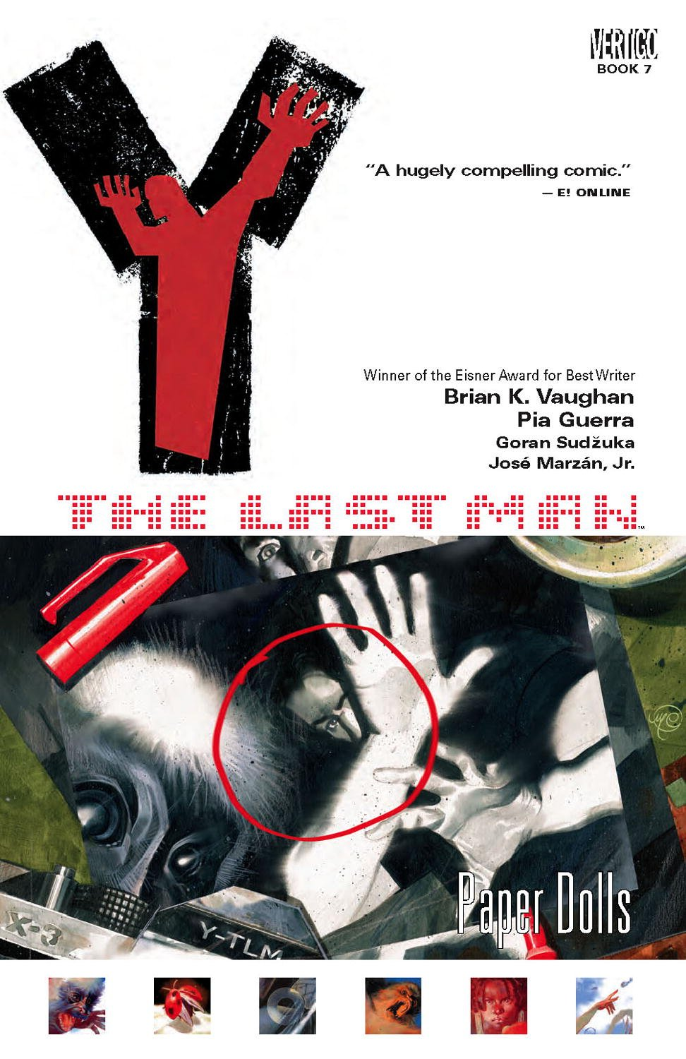 Amazon.com: Y: The Last Man, Vol. 7: Paper Dolls (9781401210090): Brian K.  Vaughan, Pia Guerra, Jose Marzan: Books