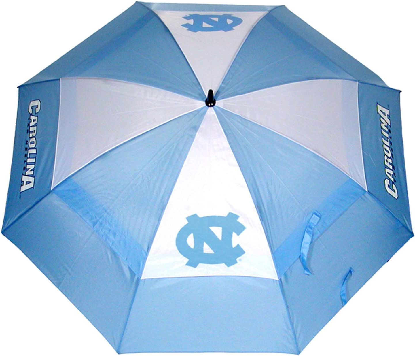"Team Golf NCAA North Carolina Tar Heels 62"" Golf Umbrella with Protective Sheath, Double Canopy Wind Protection Design, Auto Open Button : Sports & Outdoors"