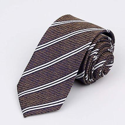 N·XHXL Corbata para Los Hombres, Bronce Rayas del Color De La Boda ...