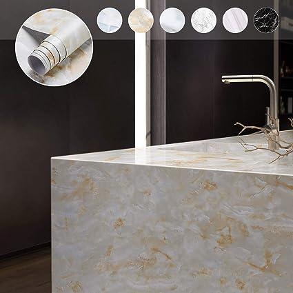 Bol Com Zelfklevende Decoratiefolie Marmer Grijs 45x200 Cm